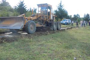 2. Снятие грунта и сооружение земляной основы
