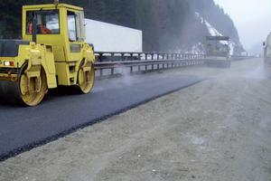 6. If necessary application of asphalt